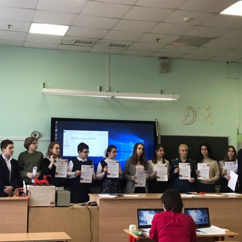 Участие в Московском городском конкурсе индивидуальных проектов 2019