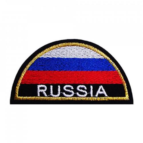 ШЕВРОН ВЫШИТЫЙ МЧС RUSSIA ПОЛУКРУГ