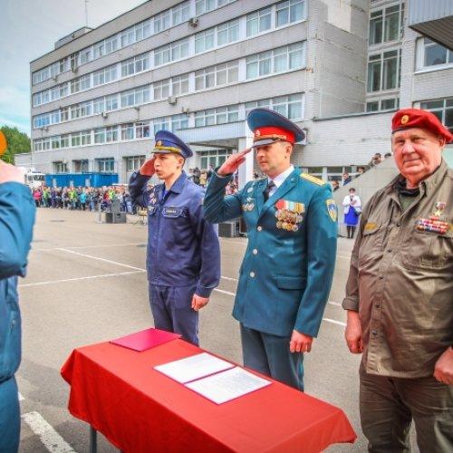 Торжественная церемония принятия присяги курсантами