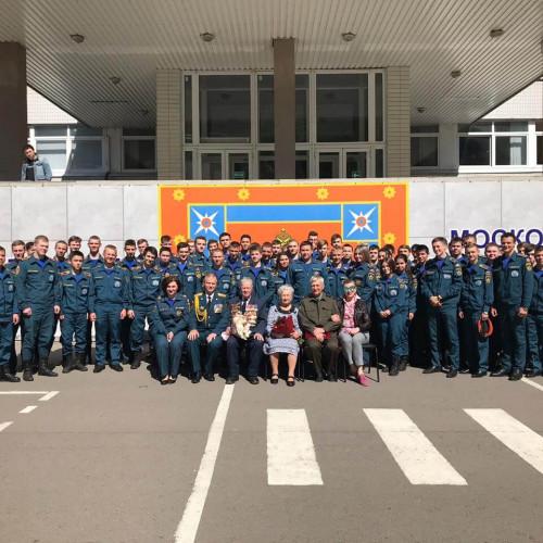 Встреча с ветеранами ВОВ Трудового Фронта