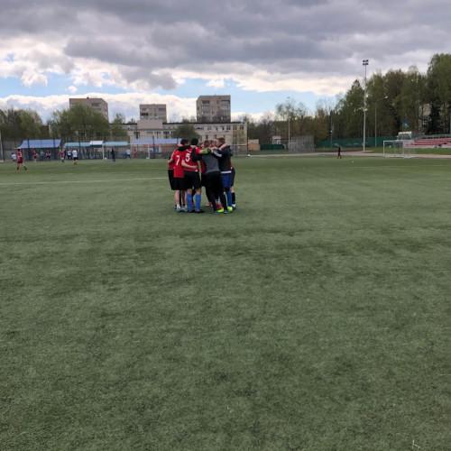 Соревнования по футболу среди курсантов